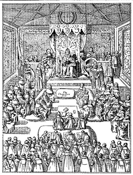 Medieval English parliament