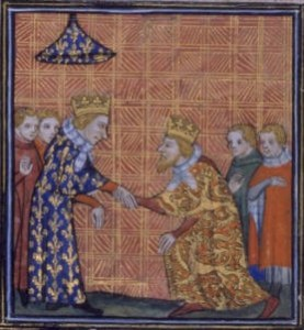 Henry III and Louis IX