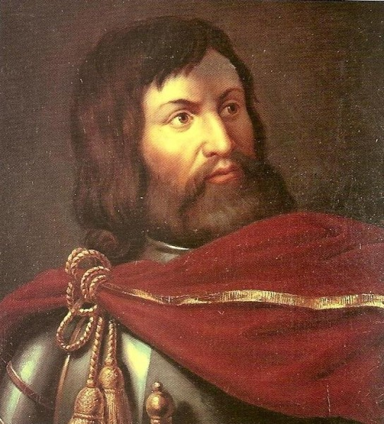 Simon de Montfort by François-Louis Dejuinne
