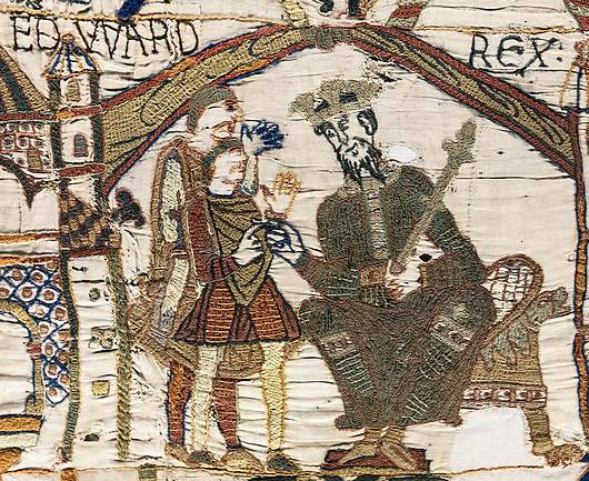 Edward the Confessor - also looking pretty sly