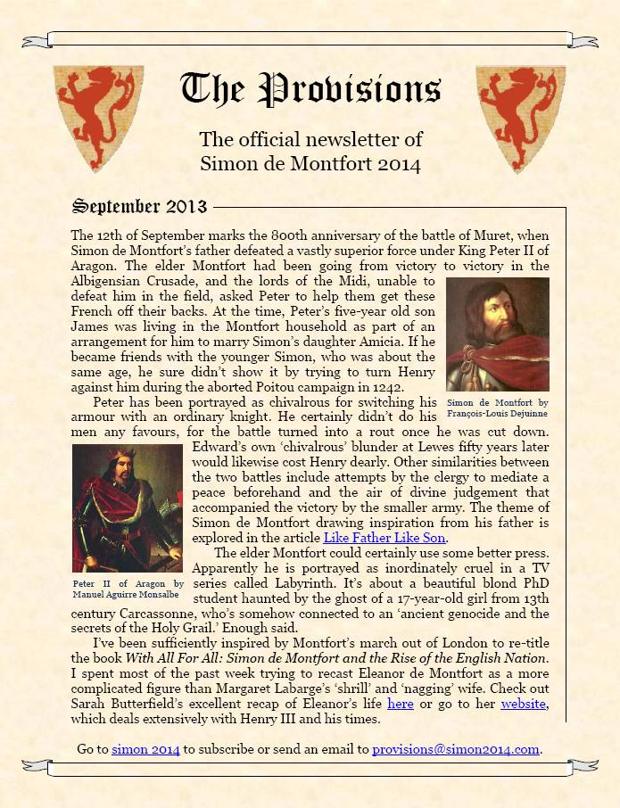 Provisions Newsletter September 2013