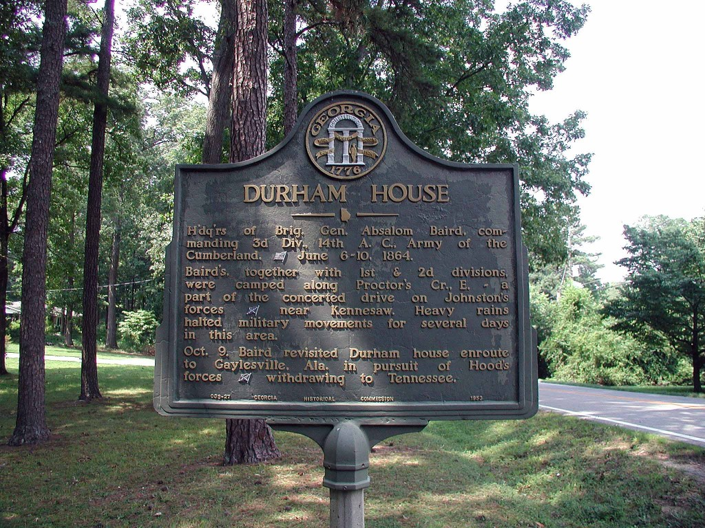 Another Durham House,  this one in Georgia USA