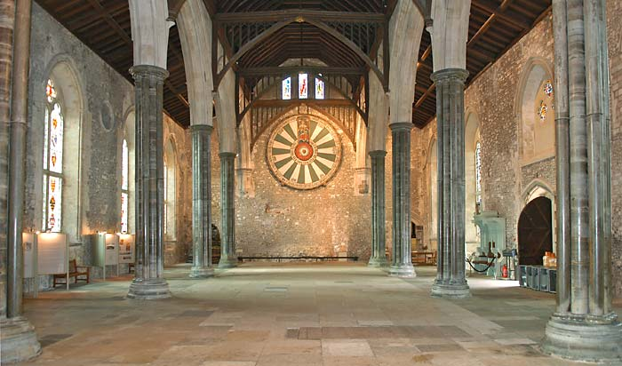 The Round Table at Winchester, perhaps patterned on Henry's Wheel of Fortune