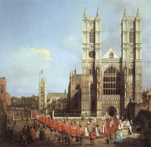 Westminster Abbey 1749
