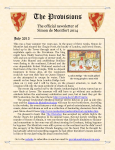 Provisions Newsletter July 2013