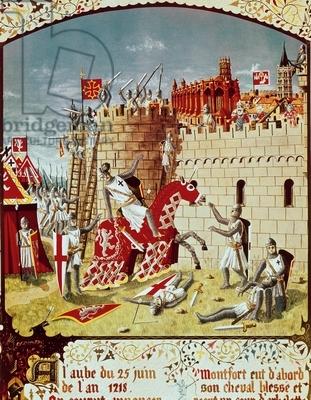 The death of Simon de Montfort