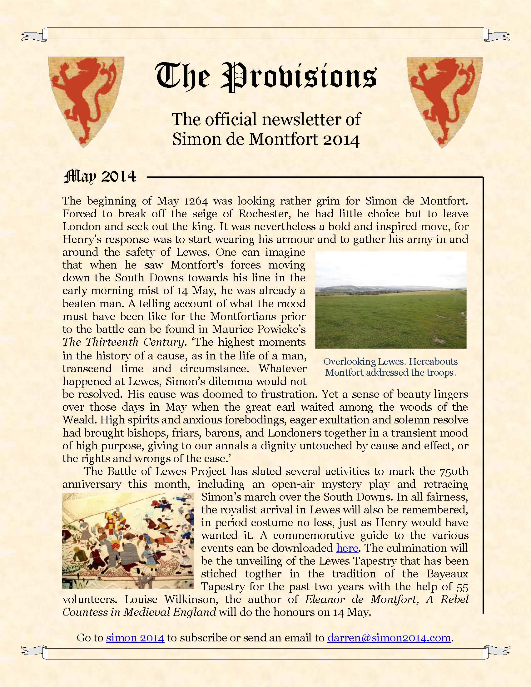 Provisions Newsletter March 2014