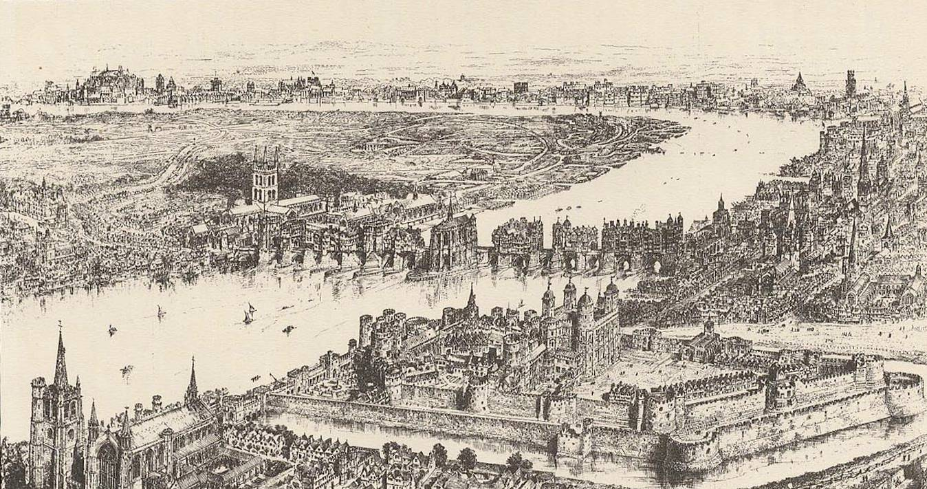 London of the walled era